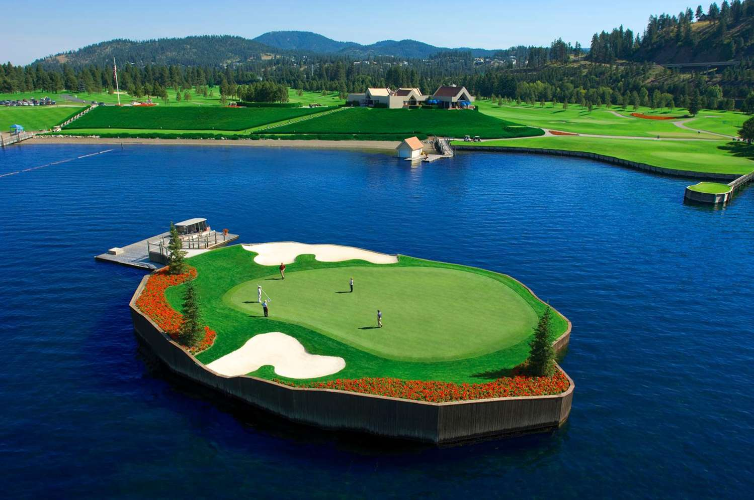 Golf - Coeur d'Alene Resort on the Lake