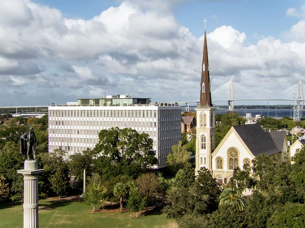 The Dewberry Charleston Aerial Exterior Day