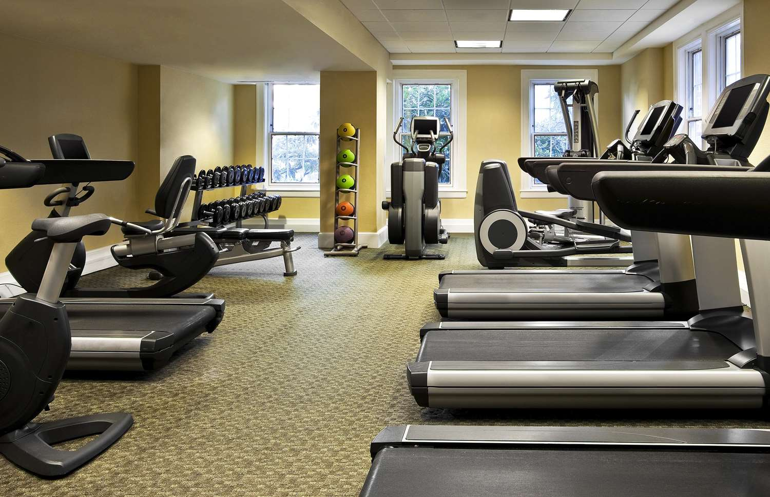 Fitness/ Exercise Room - Fairfax at Embassy Row Hotel DC