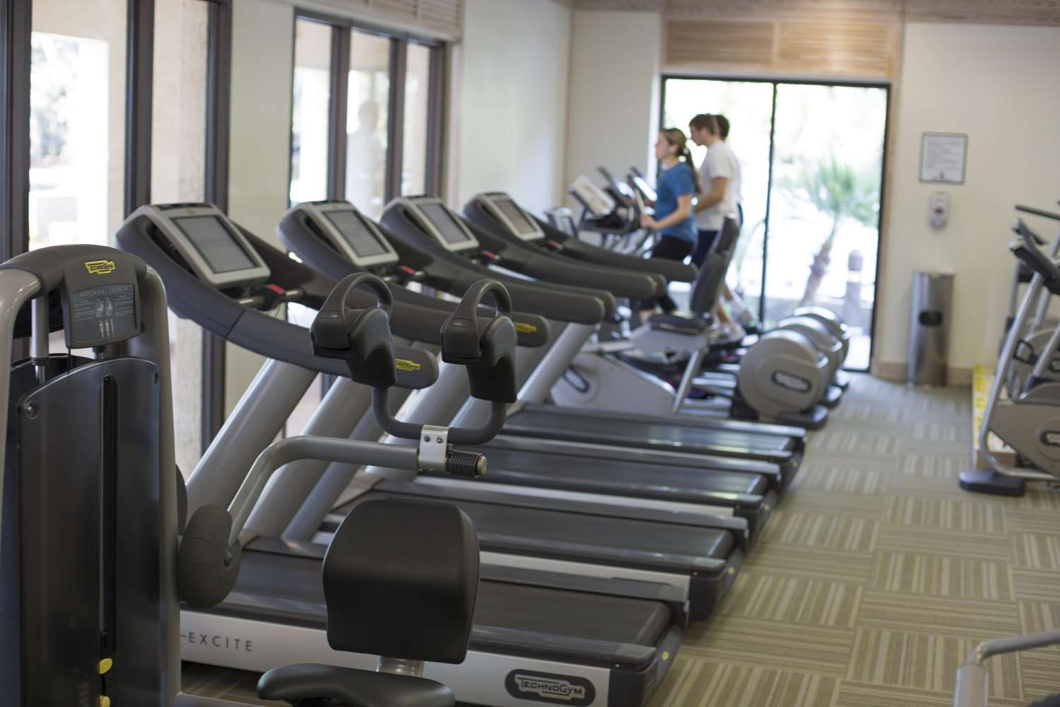 Fitness/ Exercise Room - Inn at Harbour Town Hilton Head Island