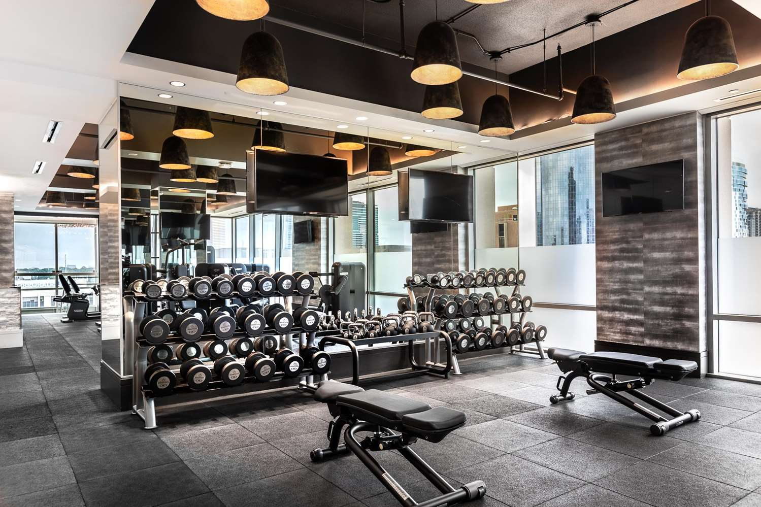 Fitness/ Exercise Room - Post Oak Hotel Uptown Houston