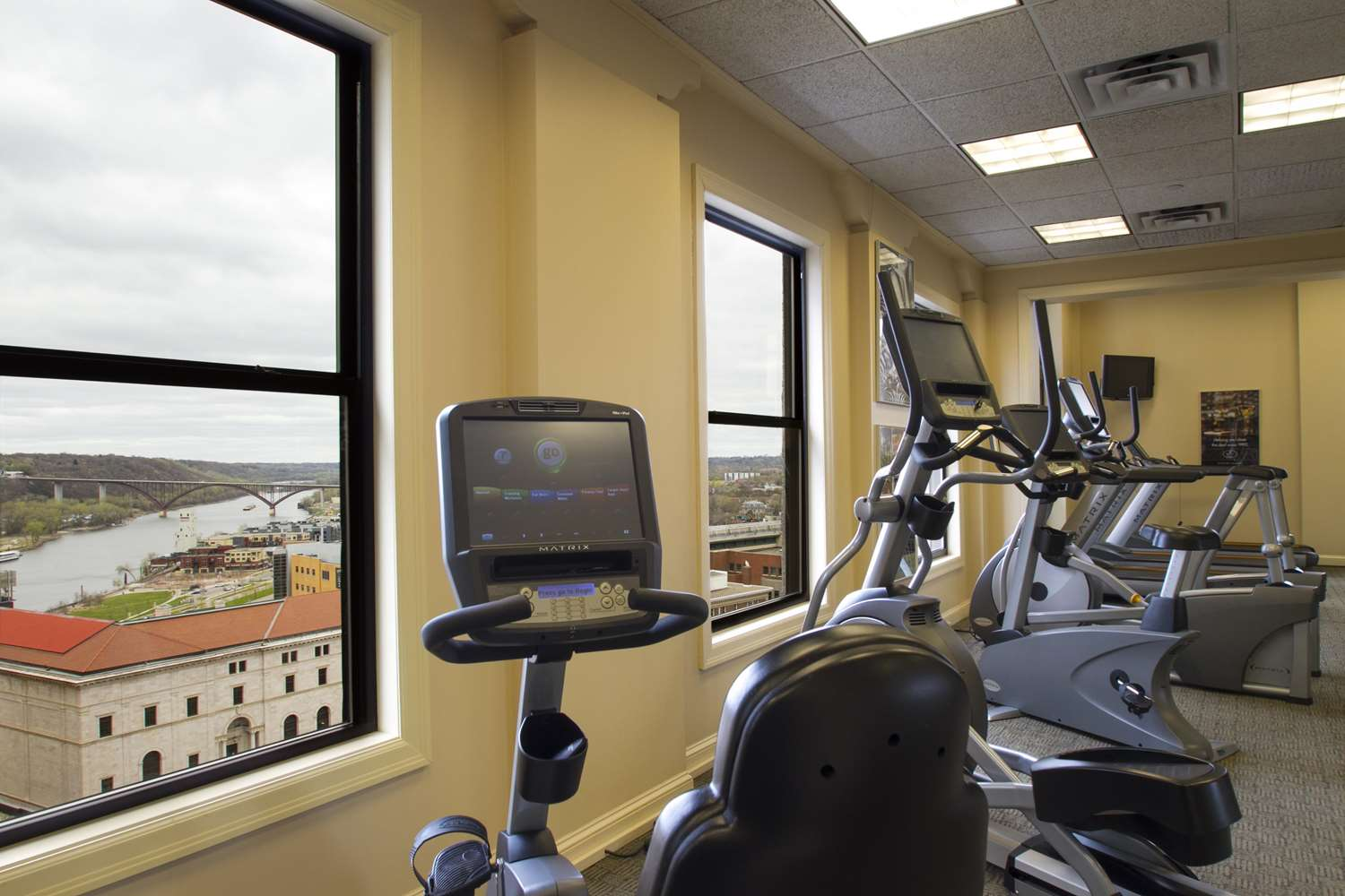 Fitness/ Exercise Room - St Paul Hotel