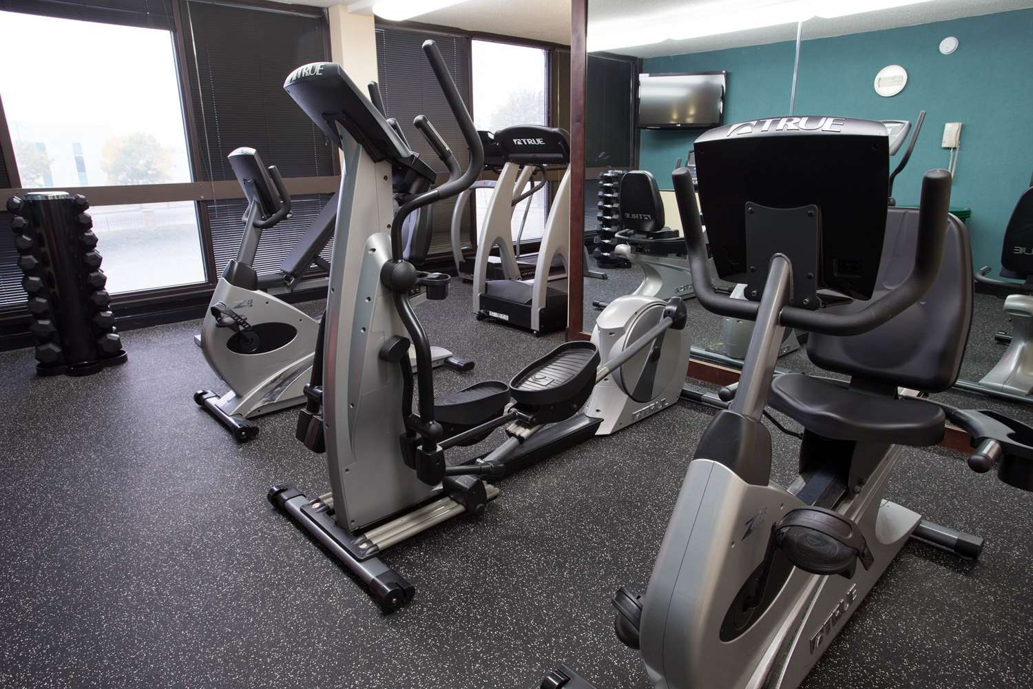 Fitness/ Exercise Room - Pear Tree Inn Union Station St Louis