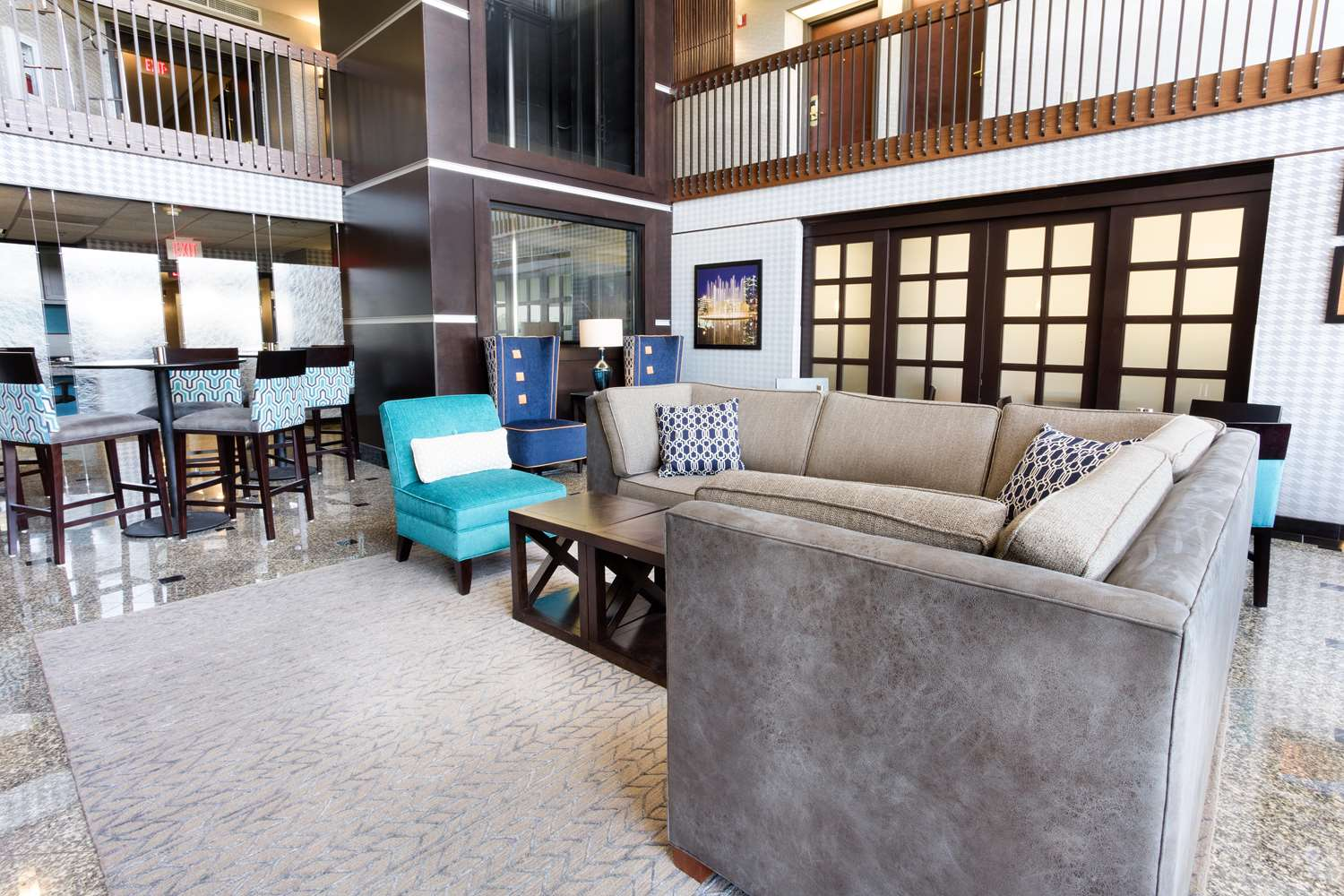 Lobby - Drury Inn & Suites Airport Kansas City