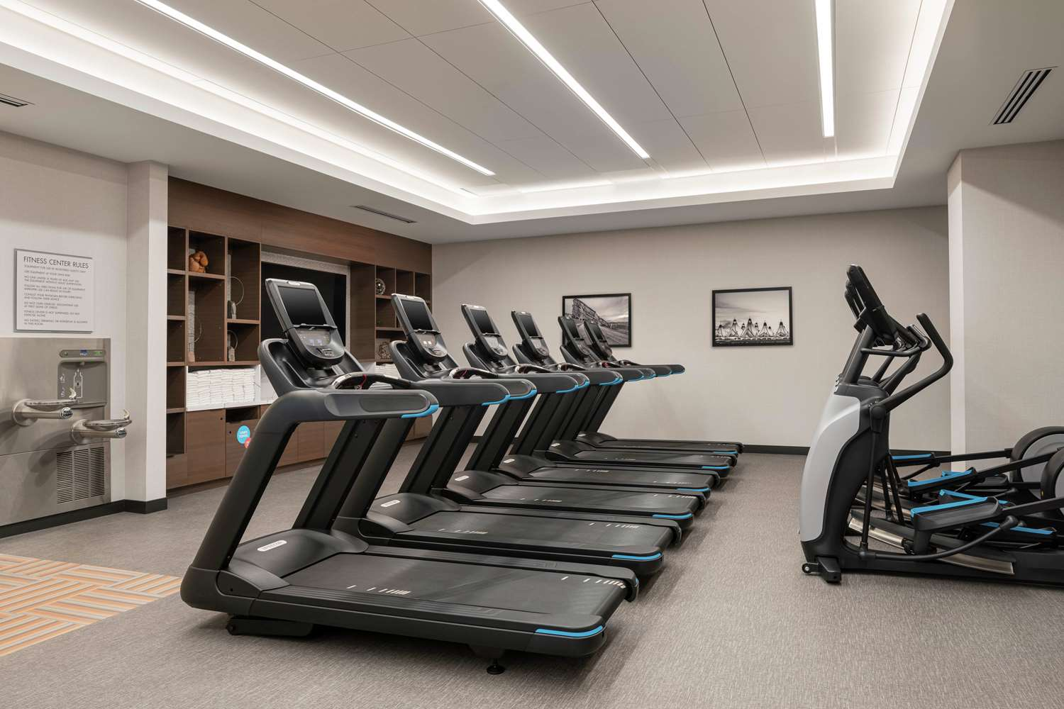 Fitness/ Exercise Room - Home2 Suites by Hilton & Convention Center Downtown Denver