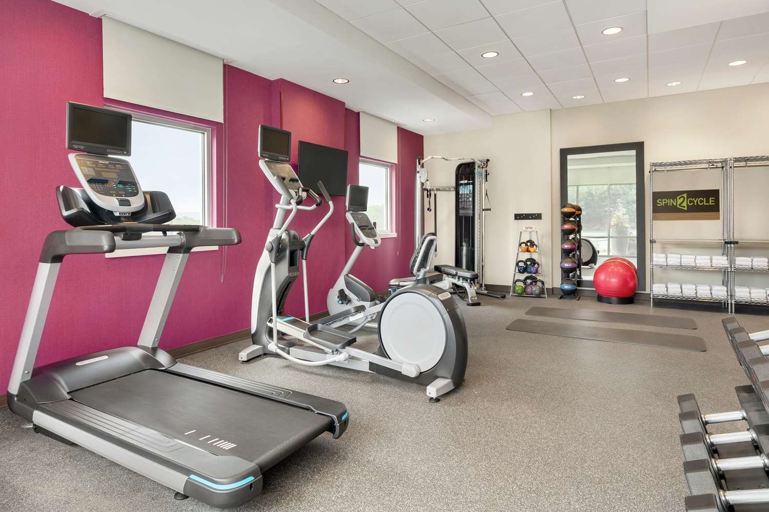Fitness/ Exercise Room - Home2 Suites by Hilton North Harrisburg
