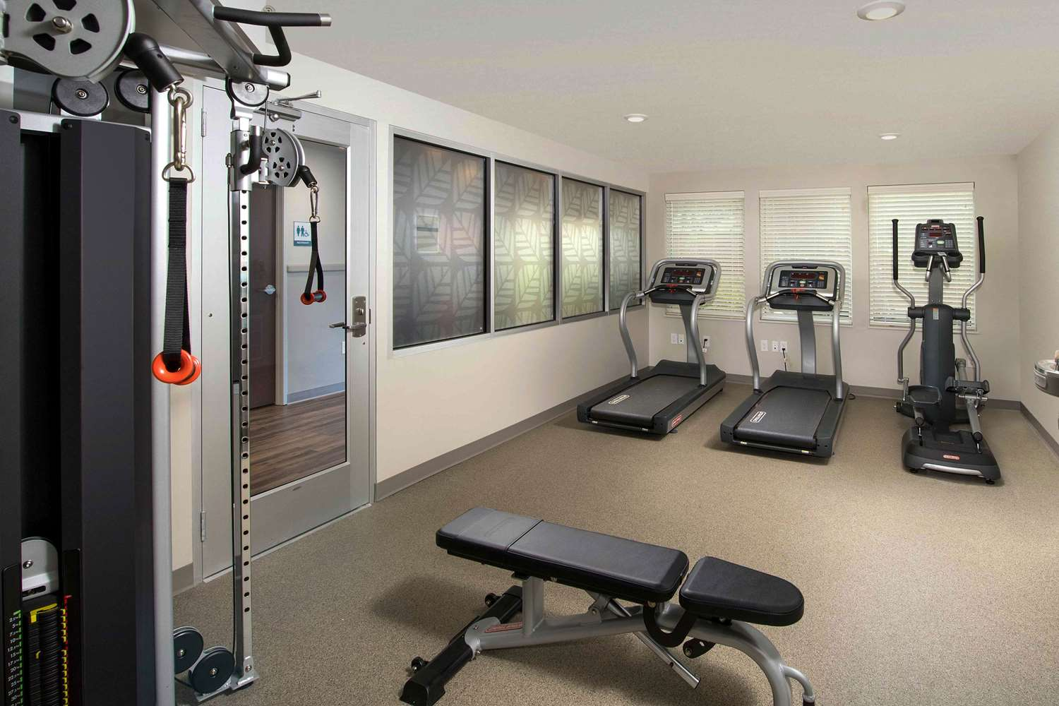 Fitness/ Exercise Room - Woodspring Suites Cherry Hill