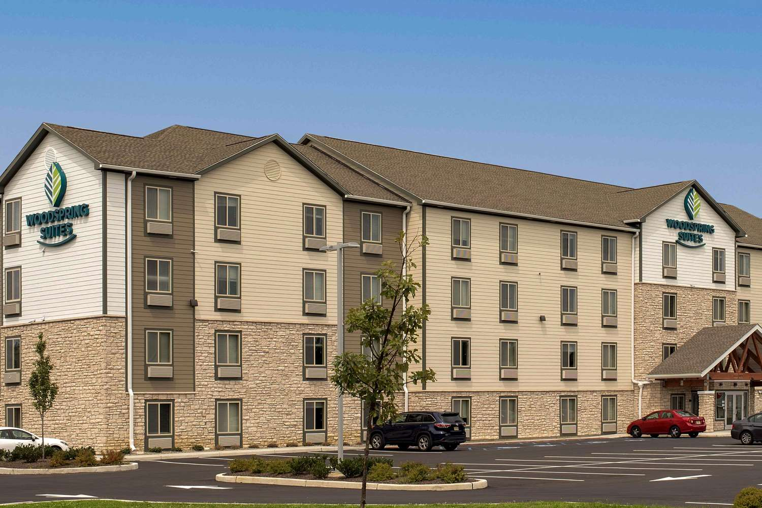 Exterior view - Woodspring Suites Cherry Hill