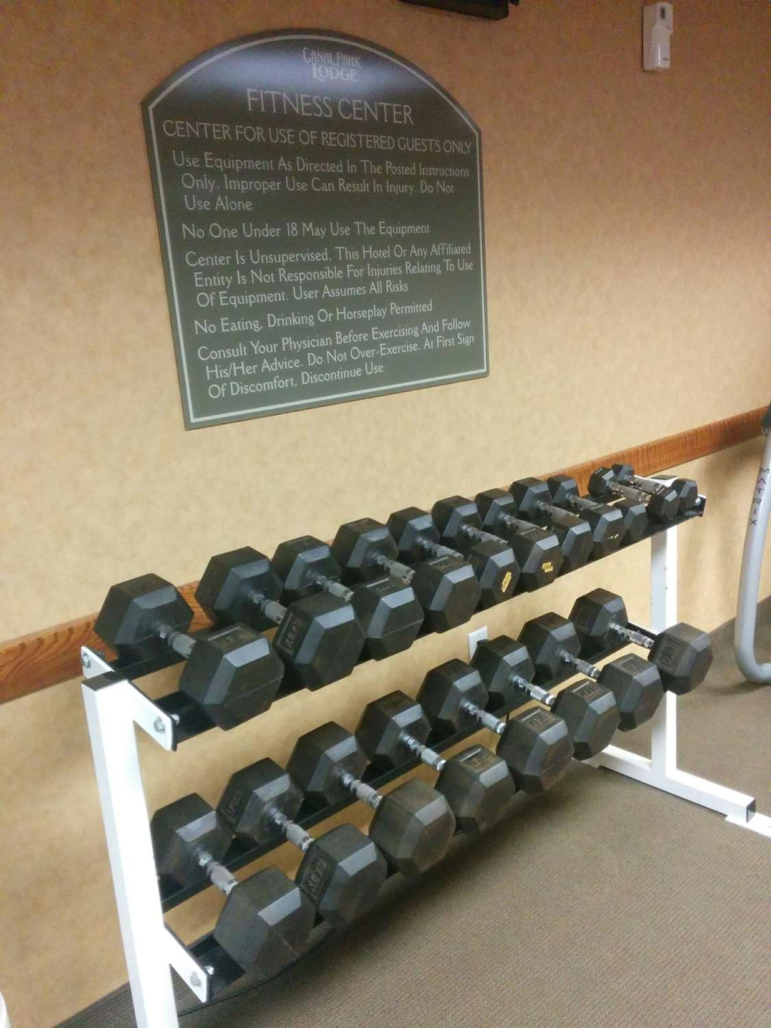 Fitness/ Exercise Room - Canal Park Lodge Duluth