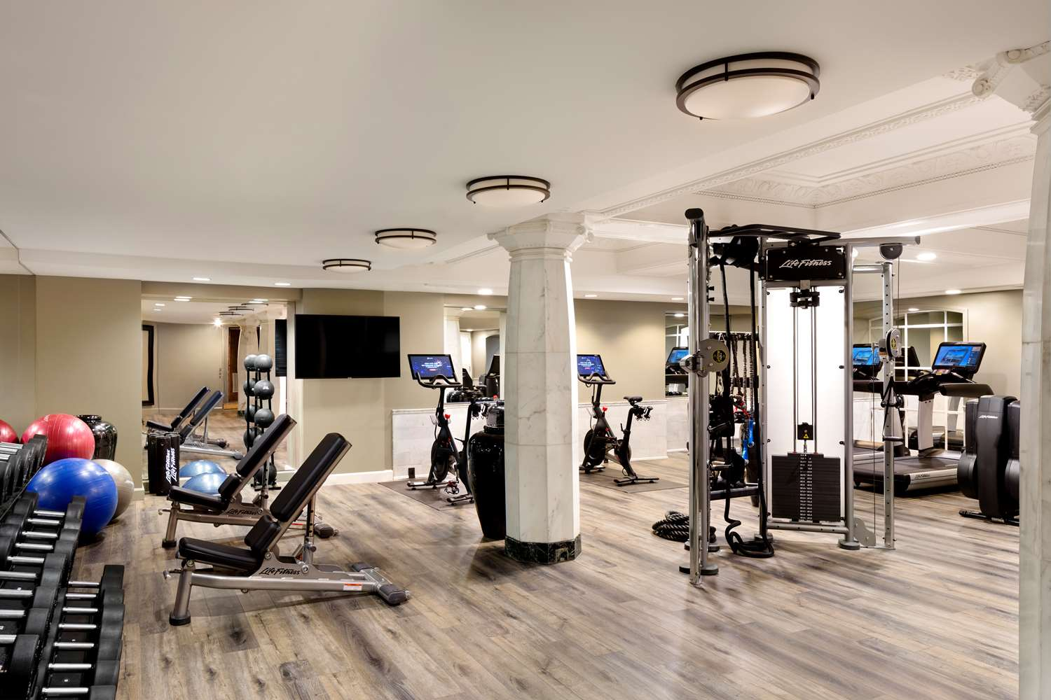 Fitness/ Exercise Room - Riggs Hotel DC