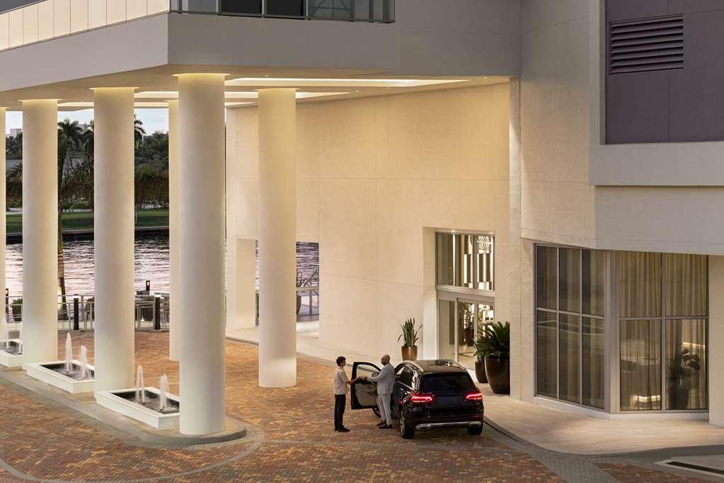 Hyde Beach House Front Entrance