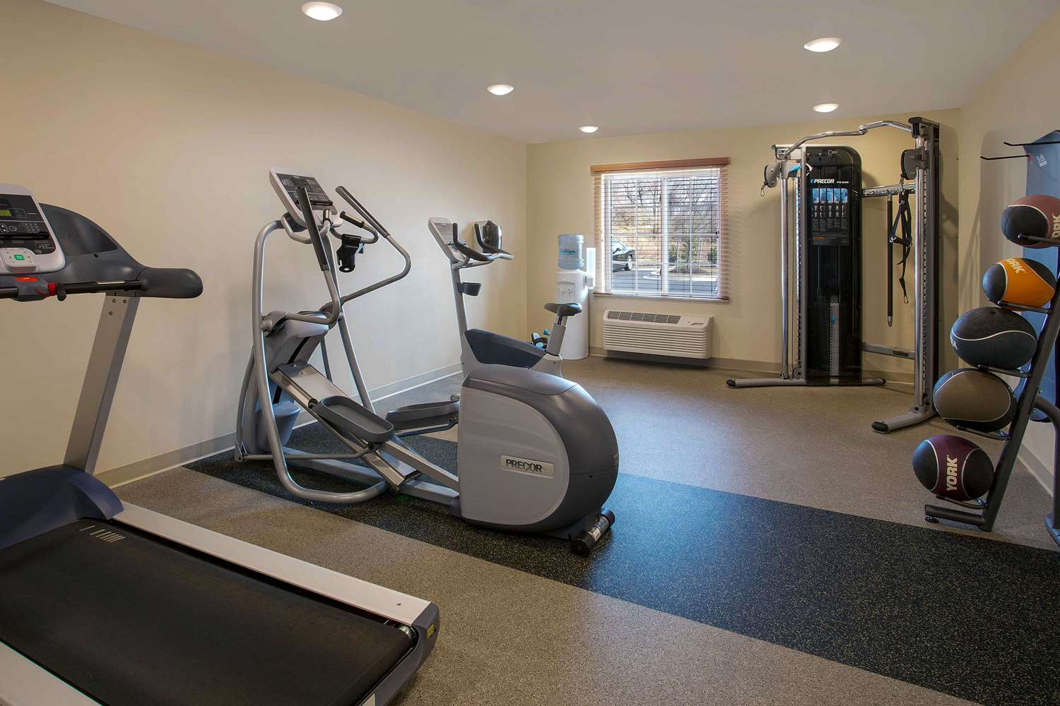 Fitness/ Exercise Room - Woodspring Suites Frederick