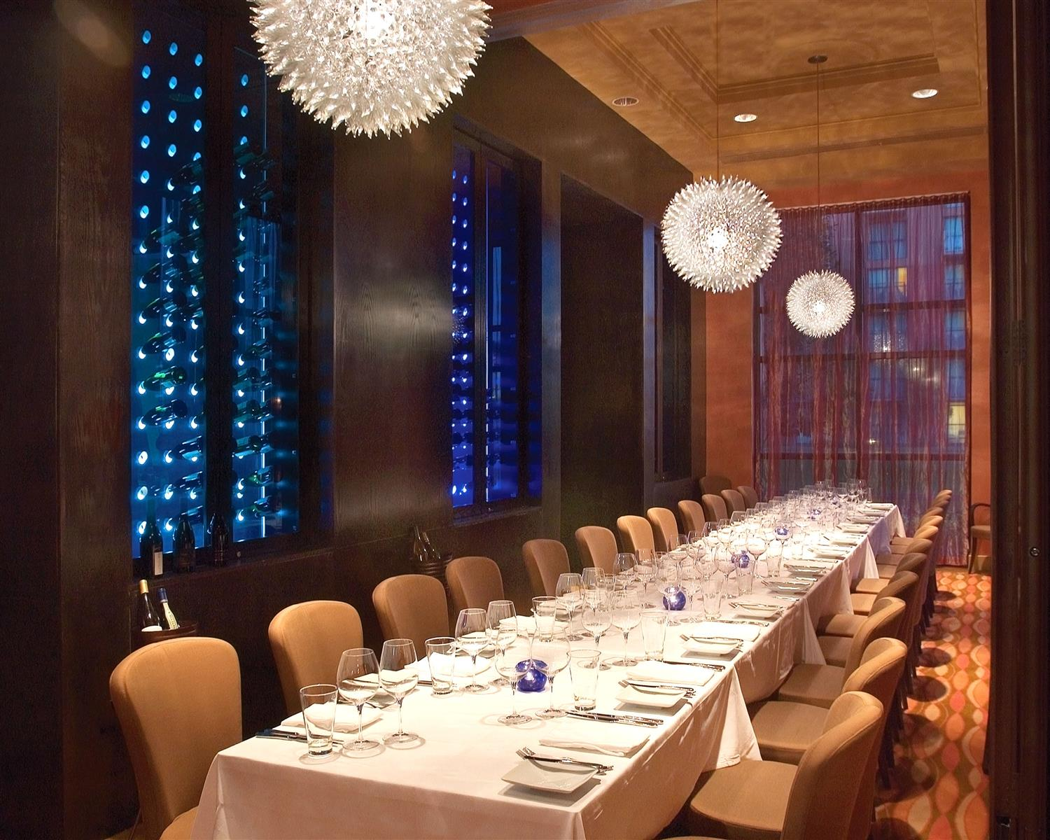 Todd English's bluezoo - private dining room