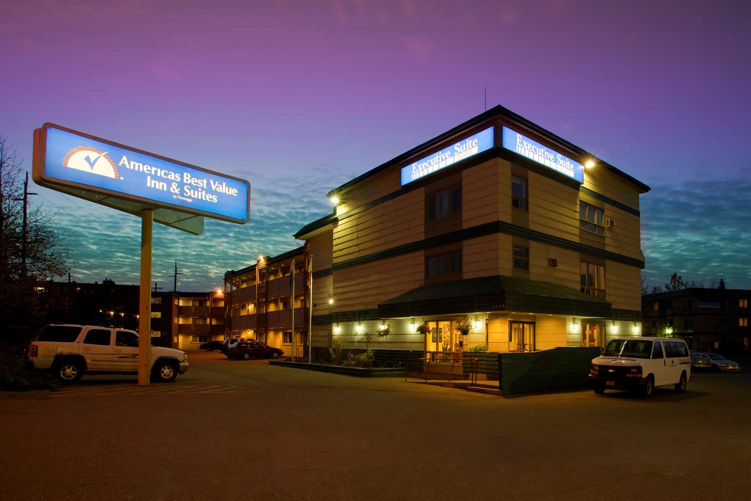 Exterior view - Americas Best Value Inn Airport Anchorage