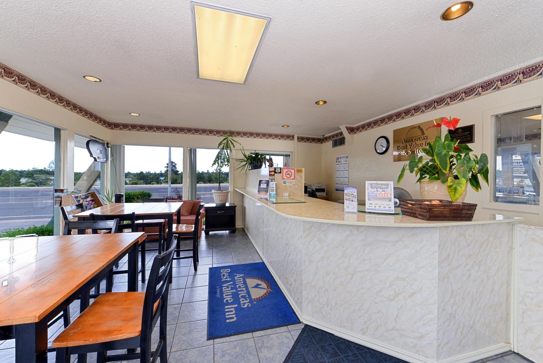 Lobby Americas Best Value Inn Suites Flagstaff