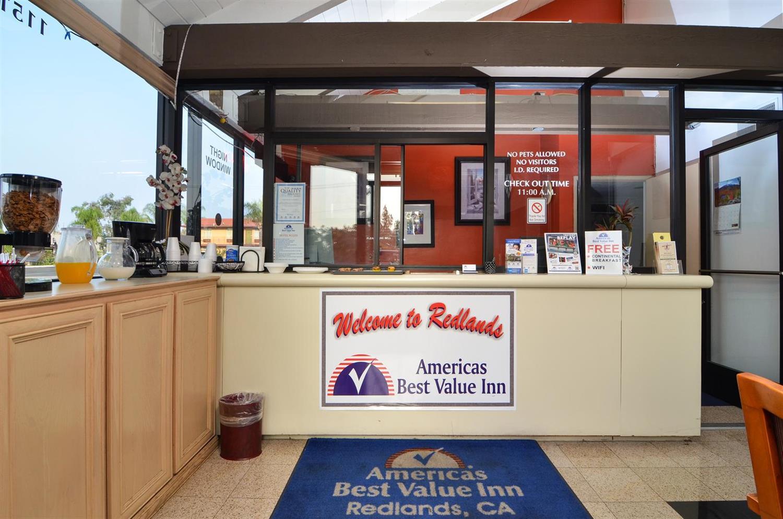 Lobby - Americas Best Value Inn Redlands