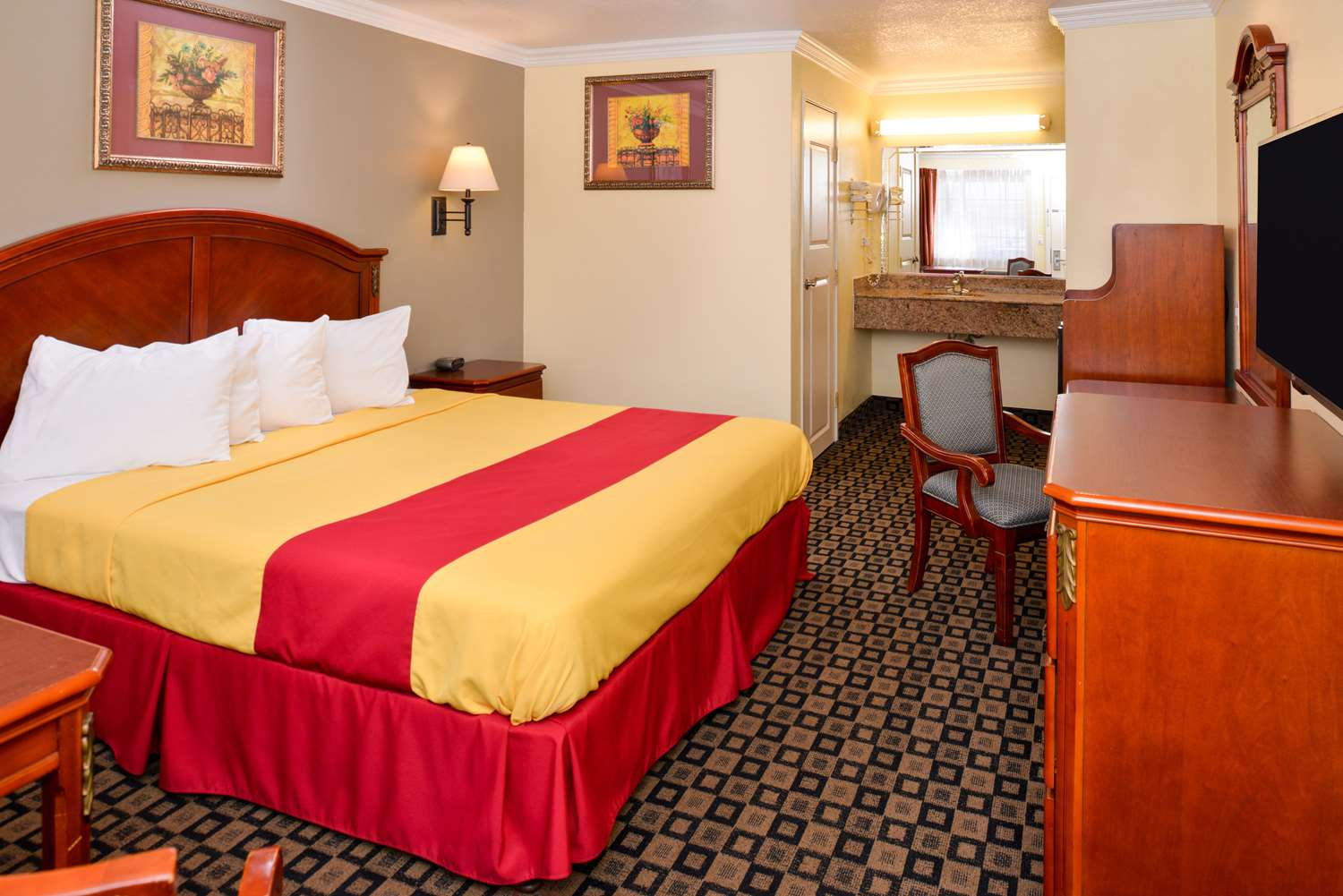 Room - Americas Best Value Inn San Bernardino