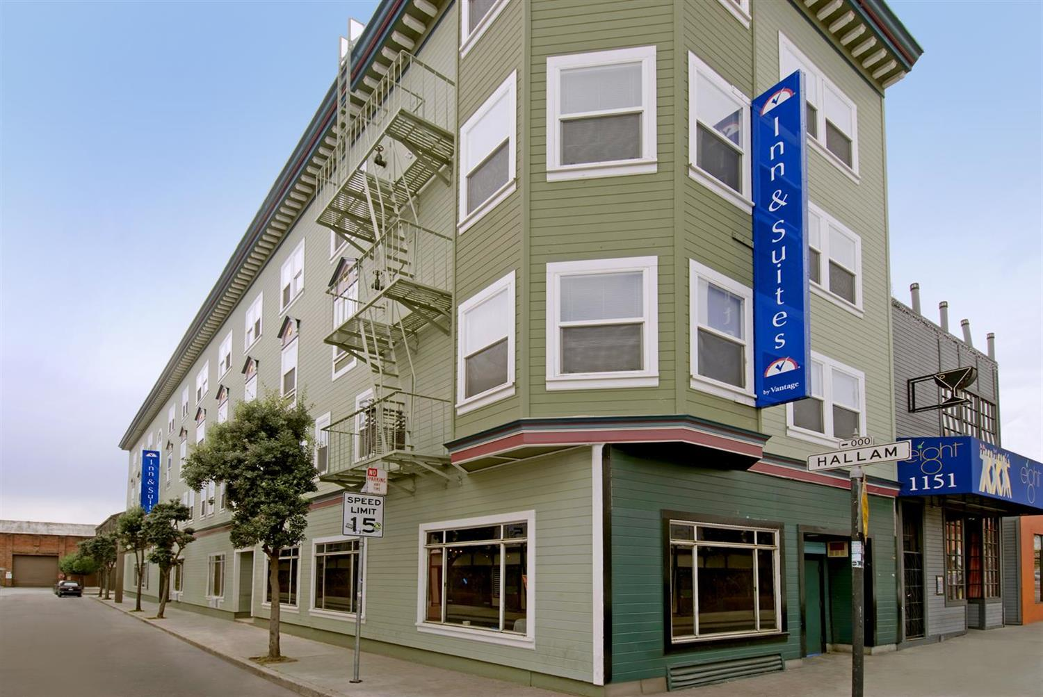 Exterior view - Americas Best Value Inn San Francisco