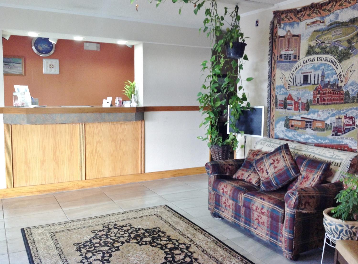 Lobby - Americas Best Value Inn Belleville