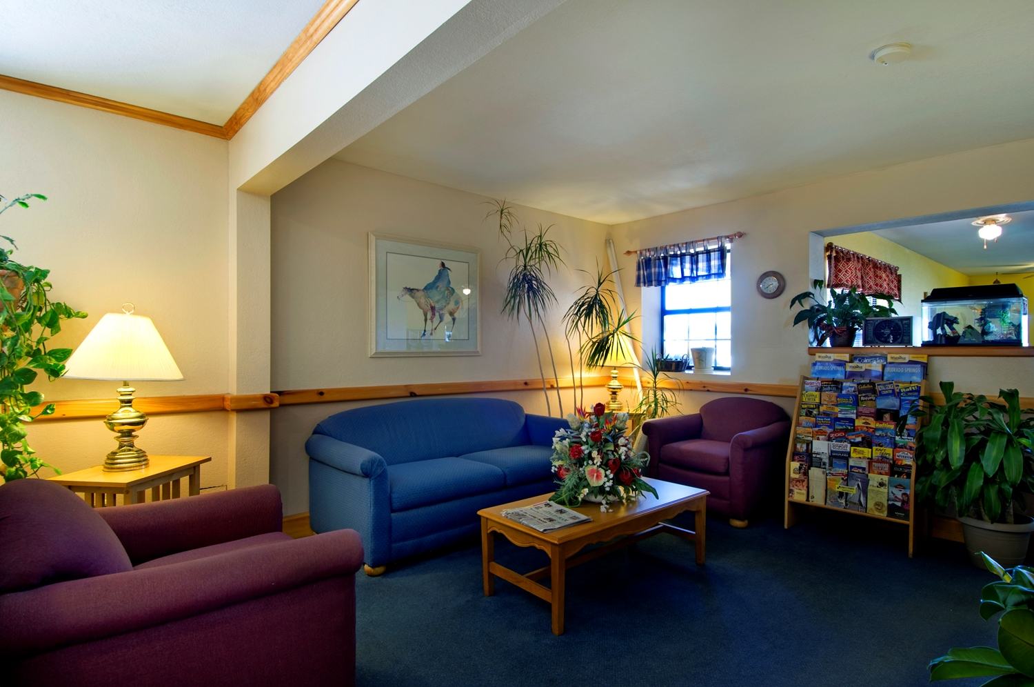 Lobby - Americas Best Value Inn Garden City