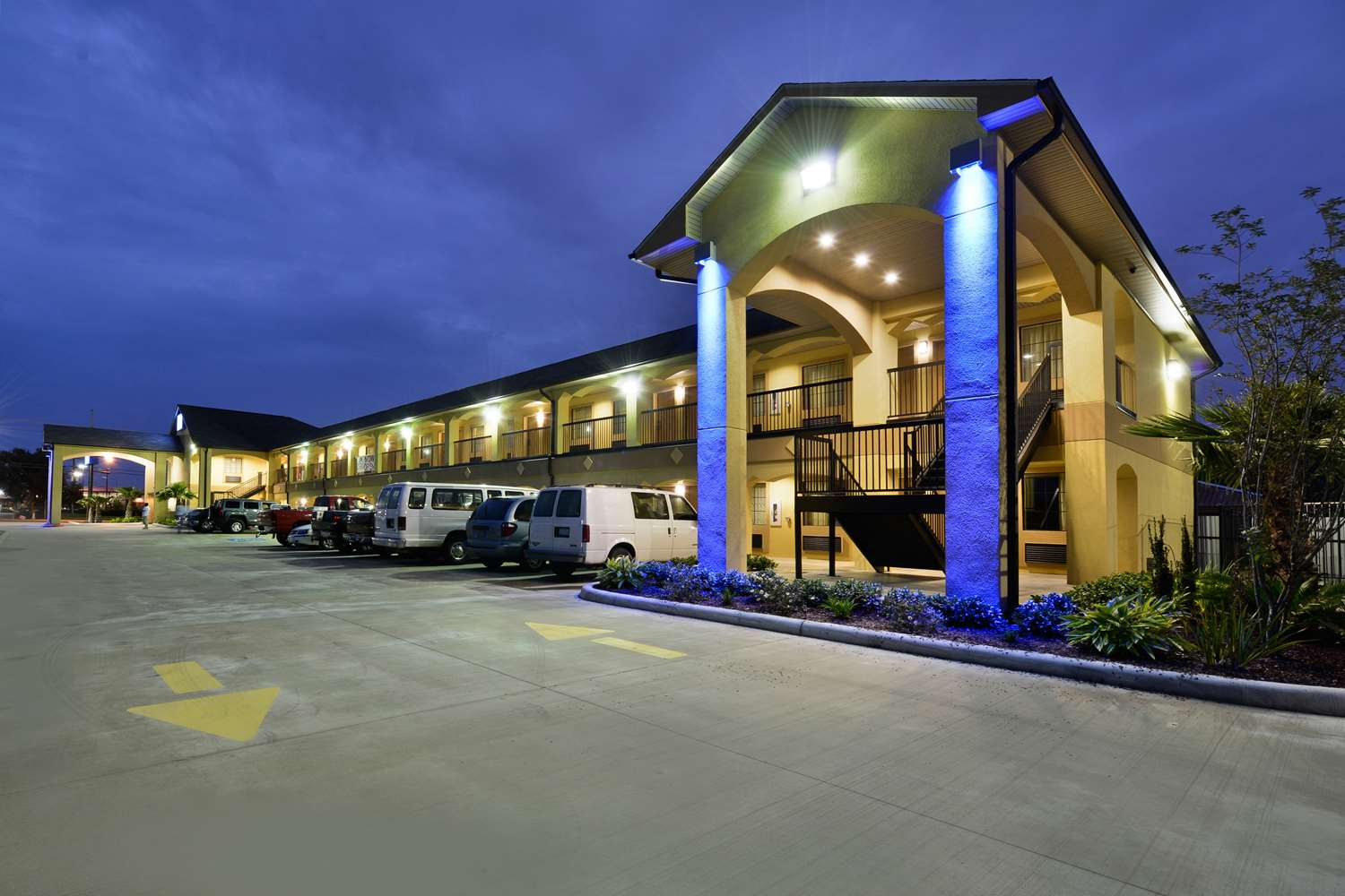 Exterior view - Americas Best Value Inn & Suites Broad Street Lake Charles