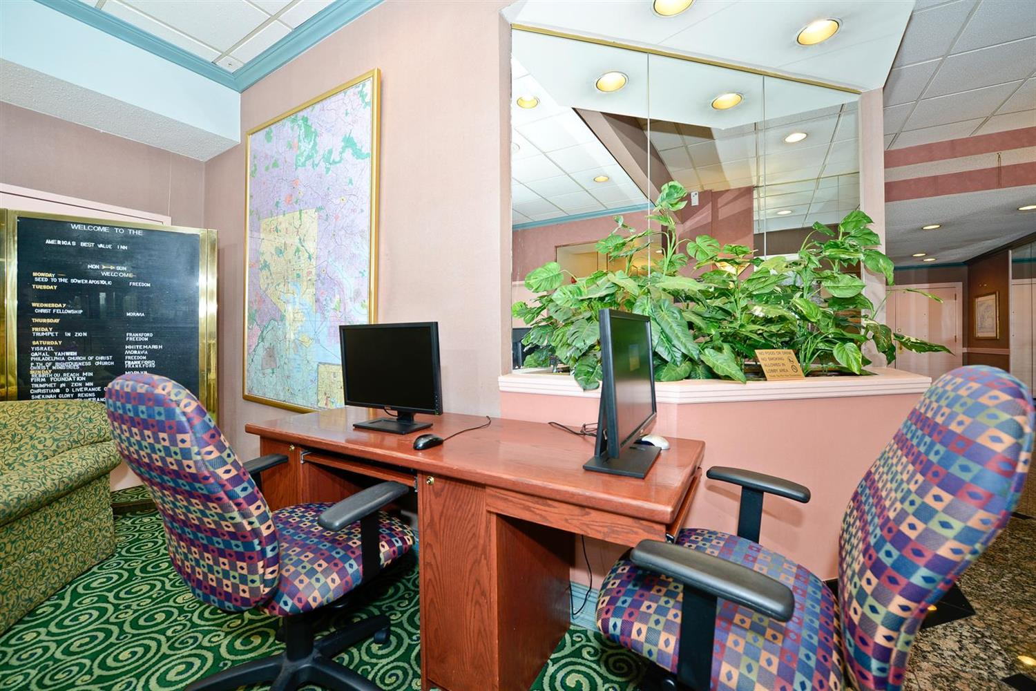 Conference Area - Americas Best Value Inn Baltimore