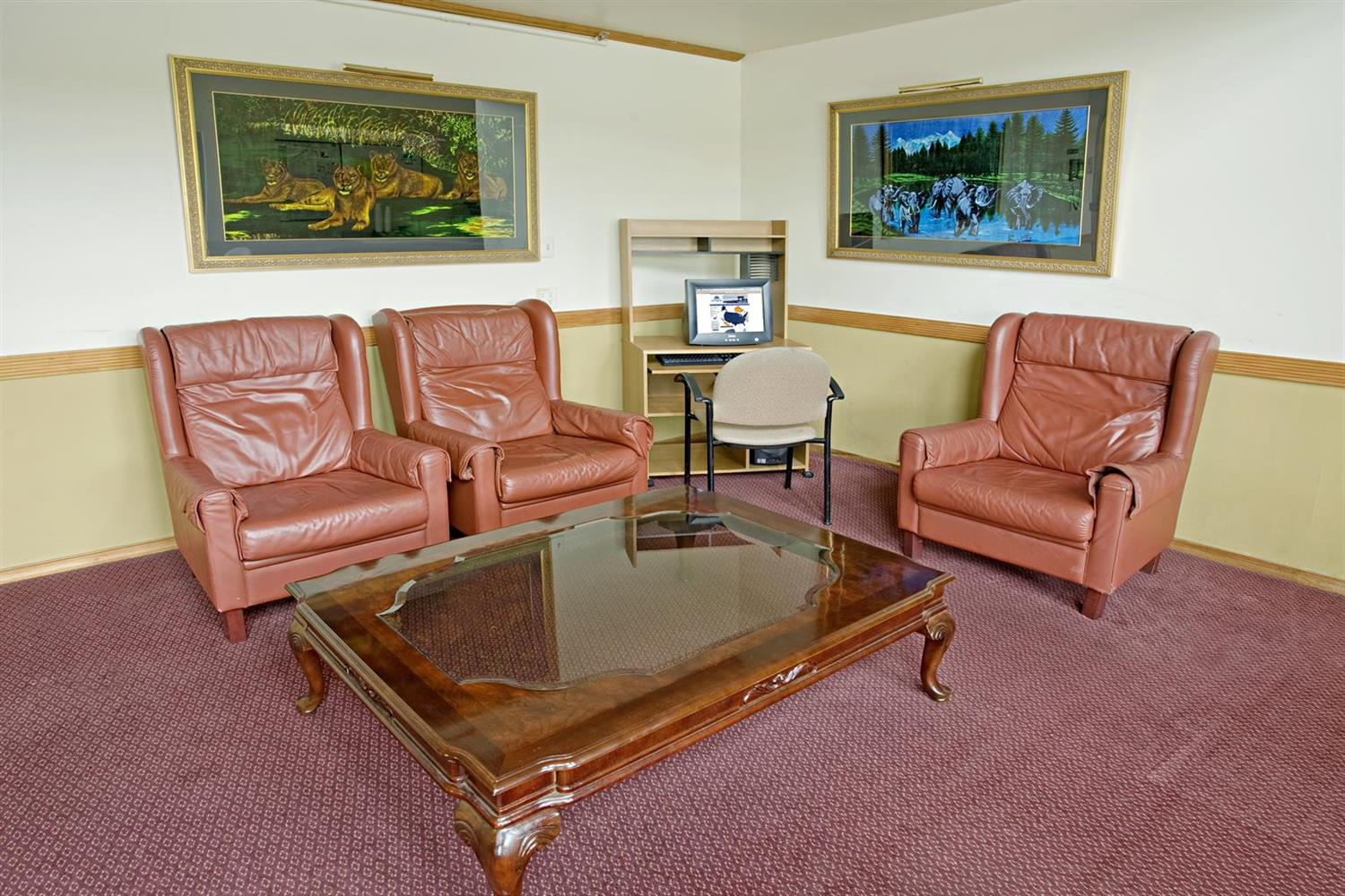 Conference Area - Americas Best Value Inn Cambridge