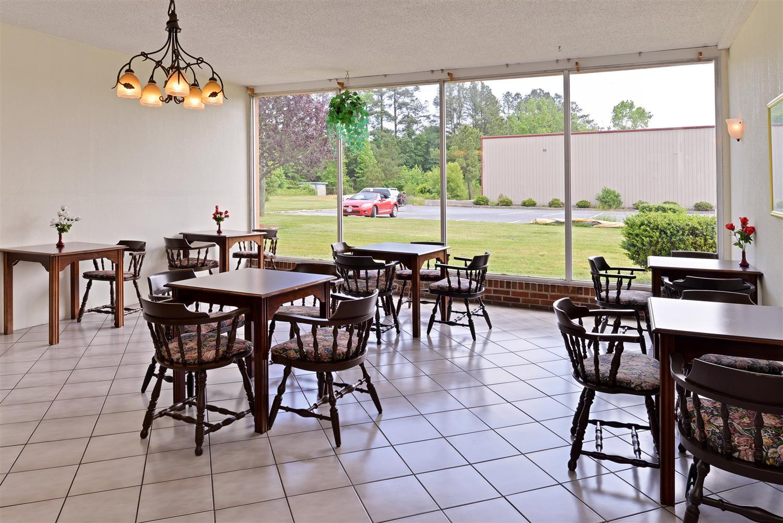 Restaurant - Americas Best Value Inn Pocomoke City