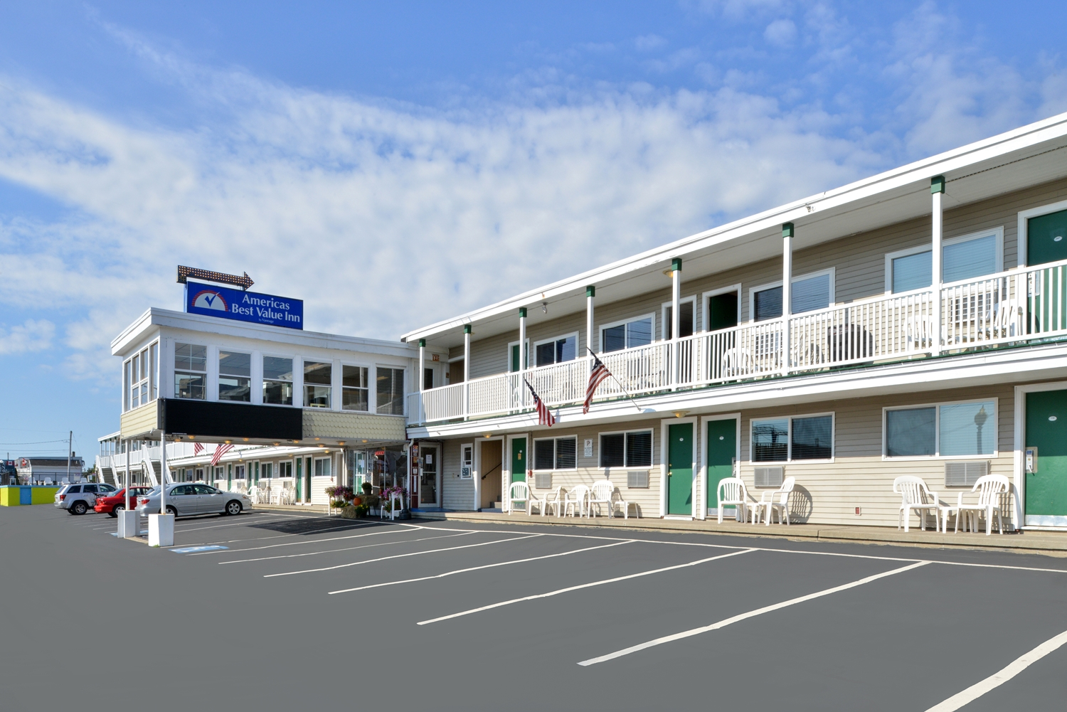 Exterior view - Americas Best Value Inn Old Orchard Beach