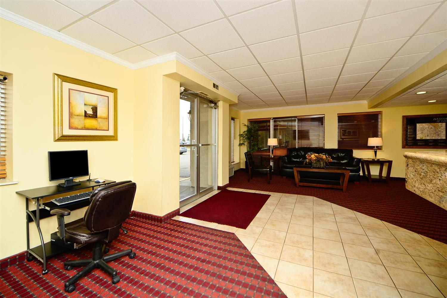 Conference Area - Americas Best Value Inn & Suites St. Cloud