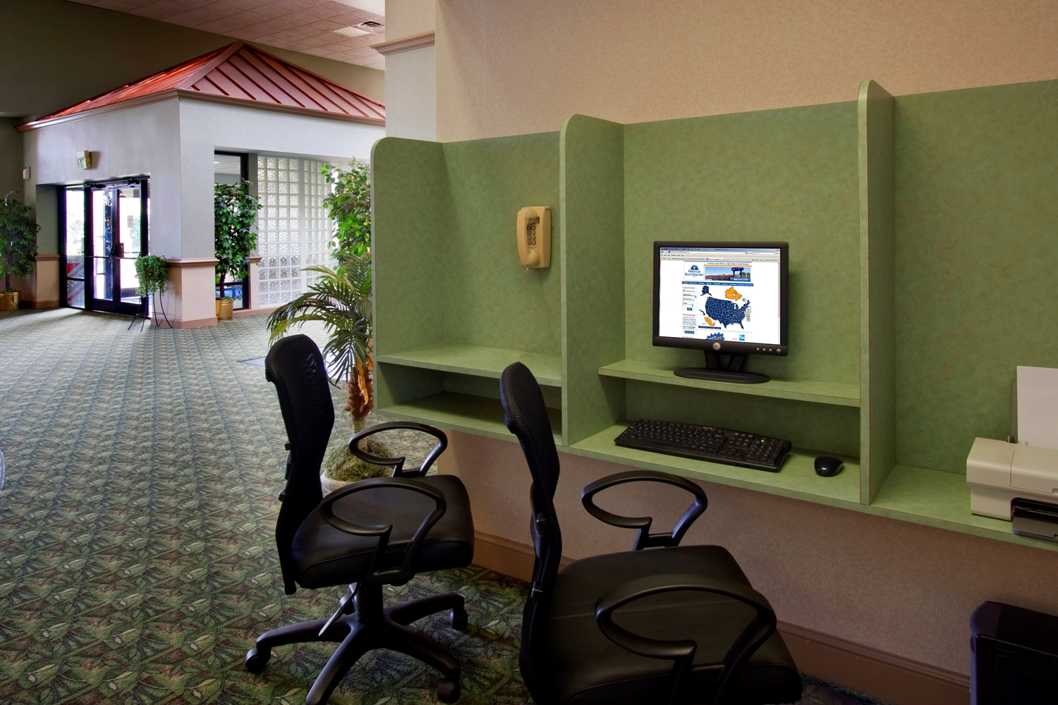 Conference Area - Americas Best Value Inn Robinsonville