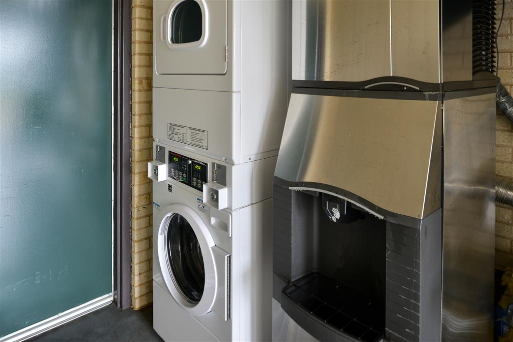 Laundry and Ice Machines