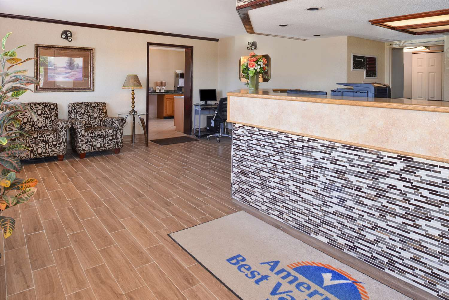 Lobby - Americas Best Value Inn