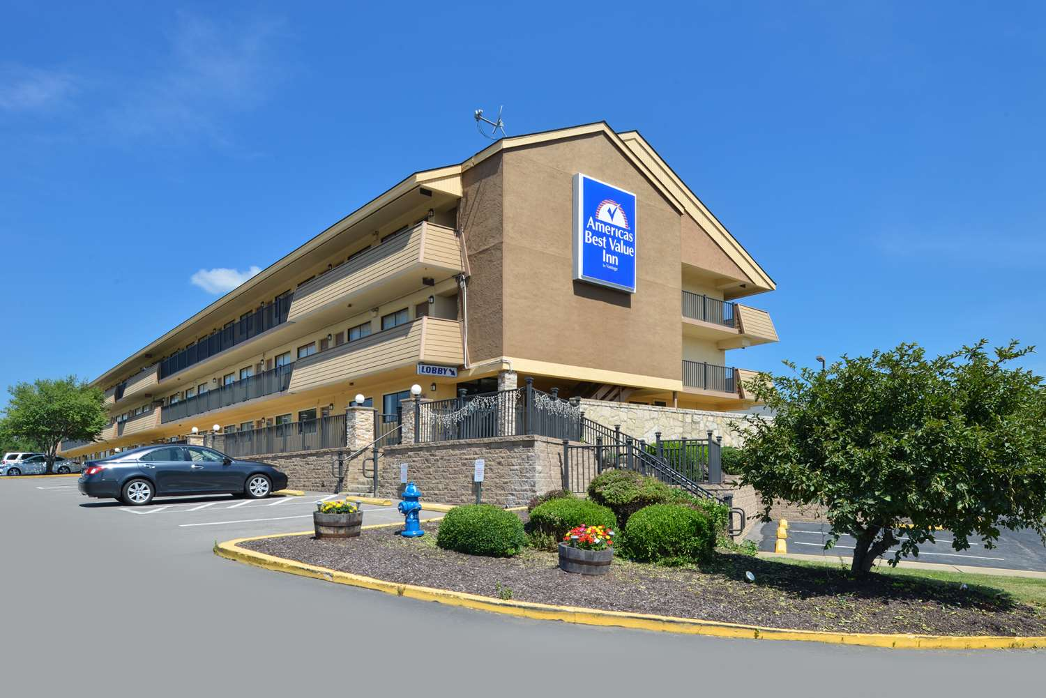 Exterior view - Americas Best Value Inn
