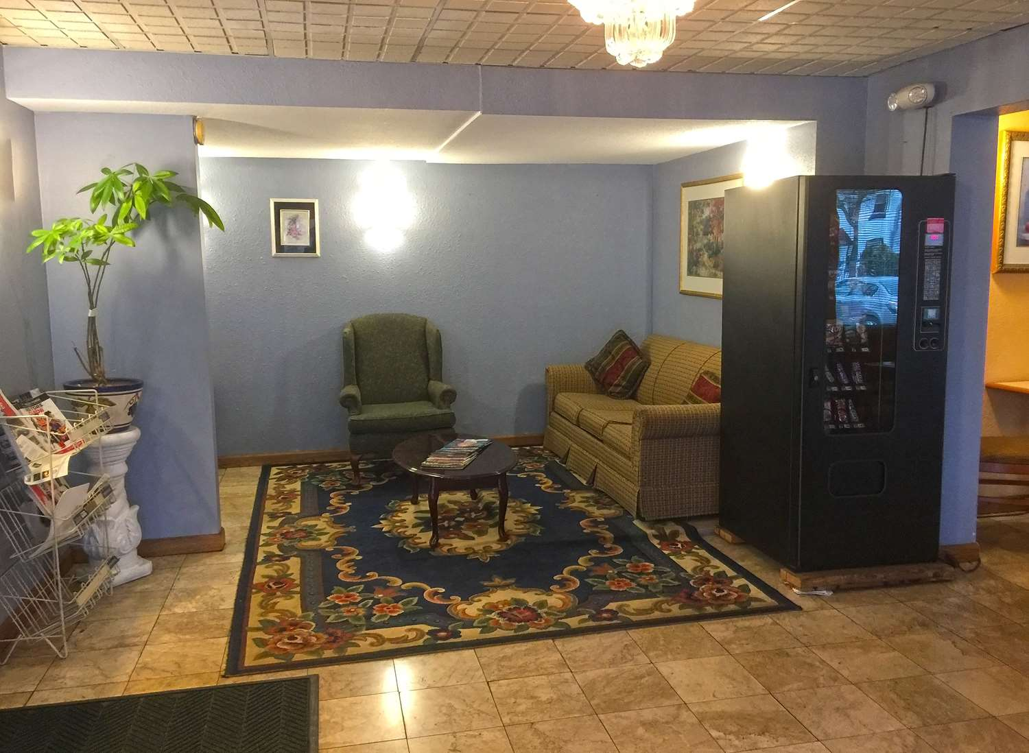 Lobby - Americas Best Value Inn Pottstown