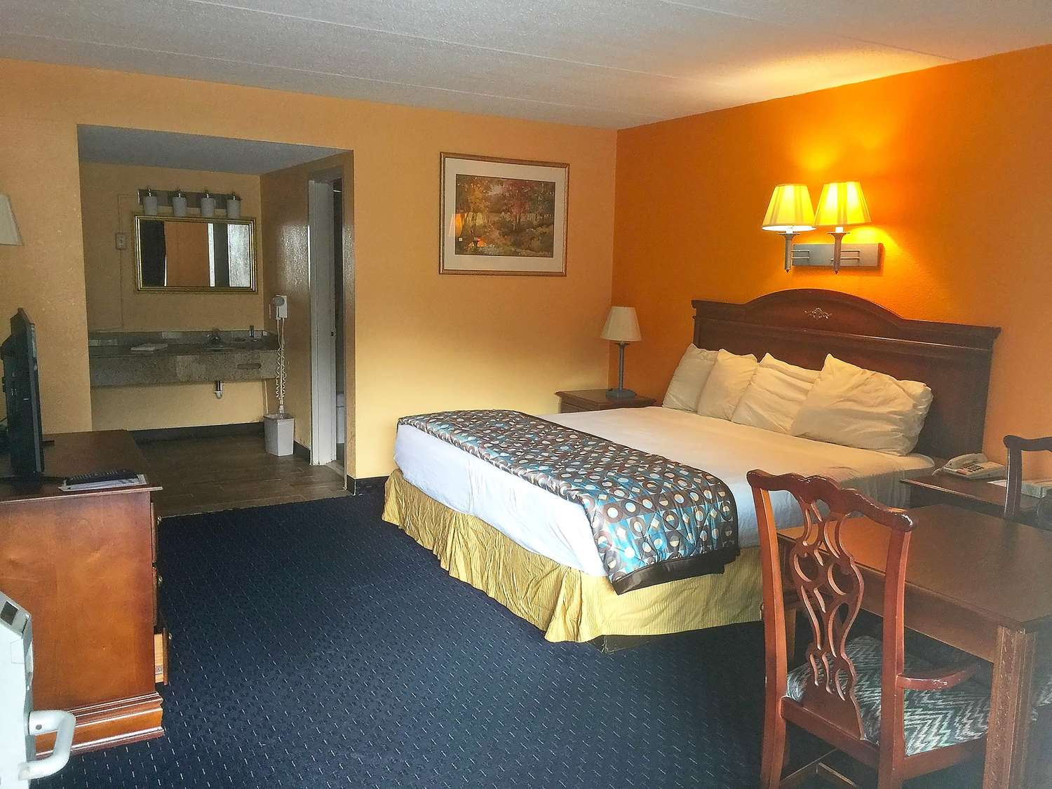 Room - Americas Best Value Inn Pottstown
