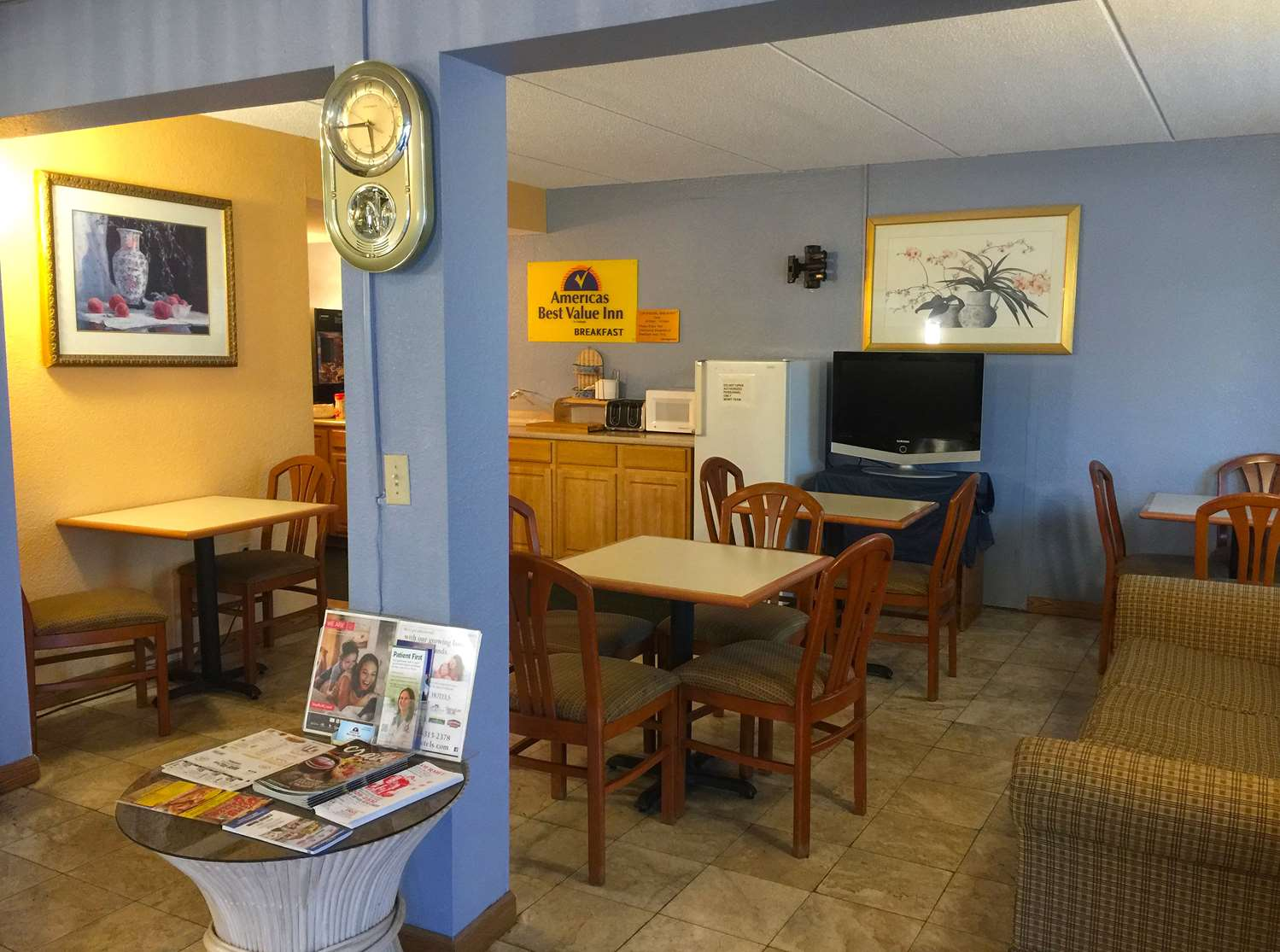 Restaurant - Americas Best Value Inn Pottstown
