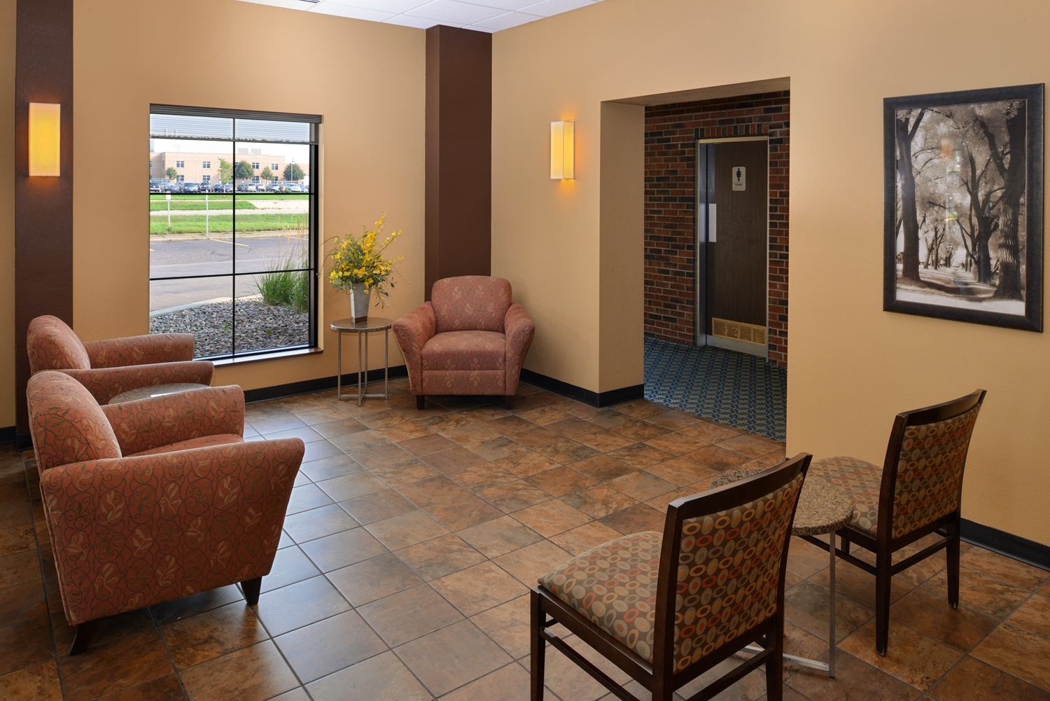 Lobby - Americas Best Value Inn Eau Claire