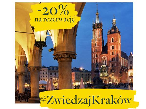 Get your 20% discount and #VisitKrakow cheaper!