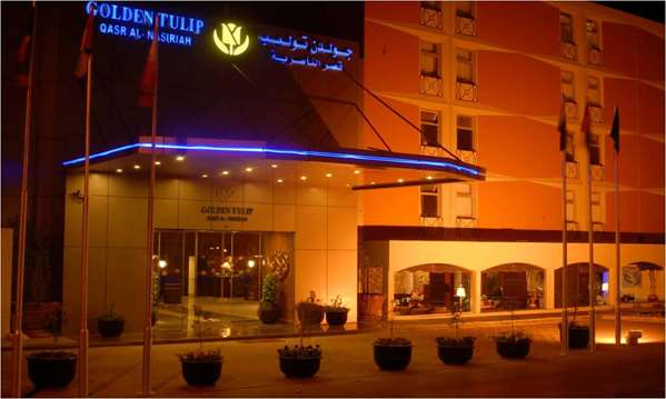 View of the hotel Riyadh GOLDEN TULIP QASR AL NASIRIAH RIYADH. The hotel includes the following equipment: Parking, Air condition available, Secure parking, Public area free wifi.