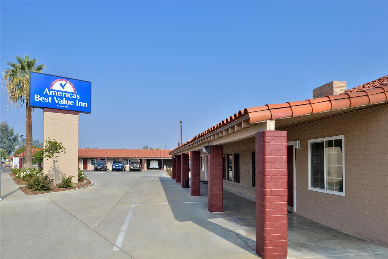 Exterior view - Americas Best Value Inn Porterville