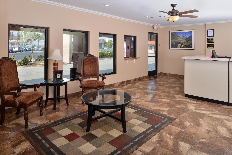 Lobby - Americas Best Value Inn Porterville