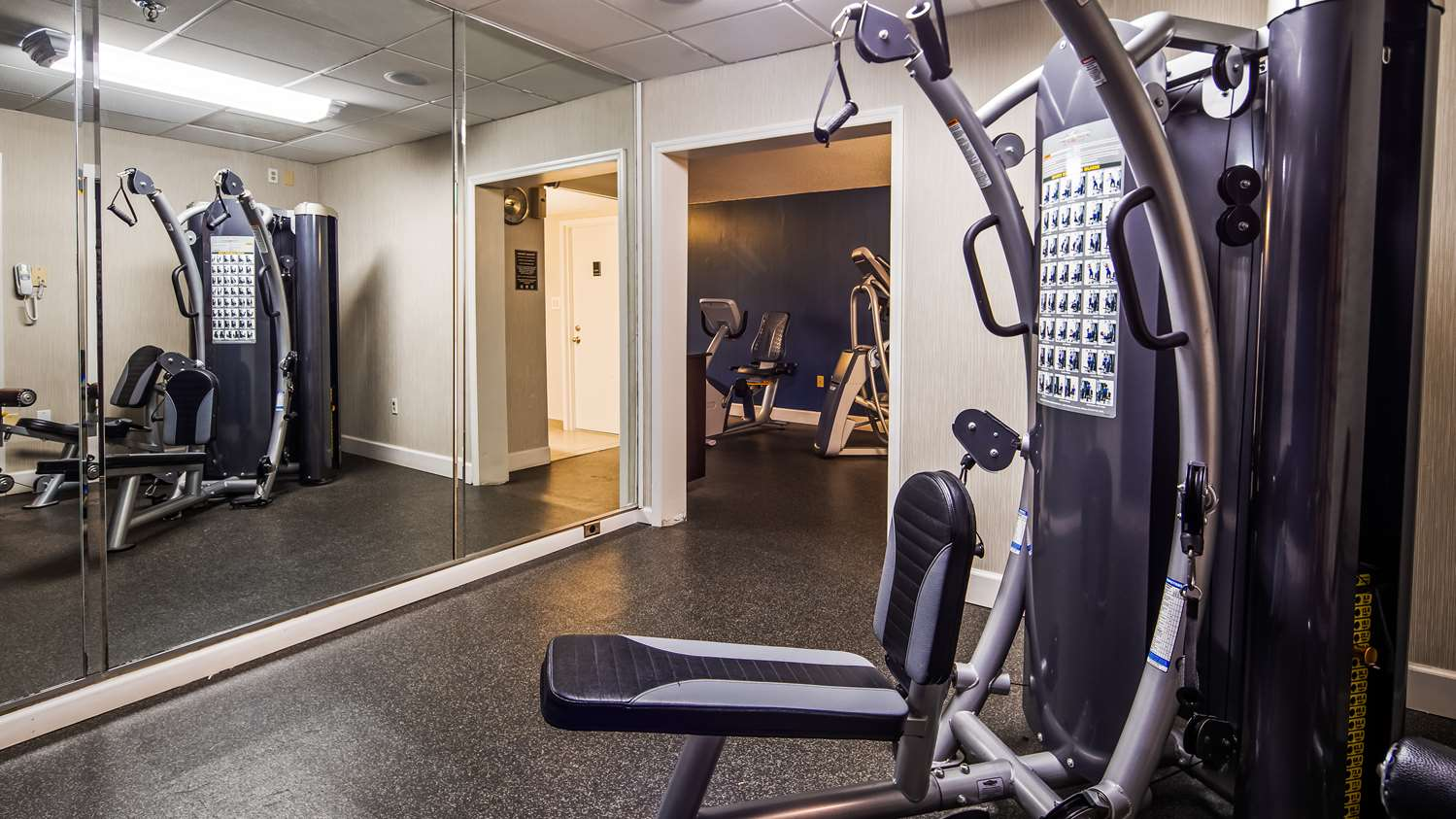 Fitness/ Exercise Room - Best Western Plus Hanes Mall Hotel
