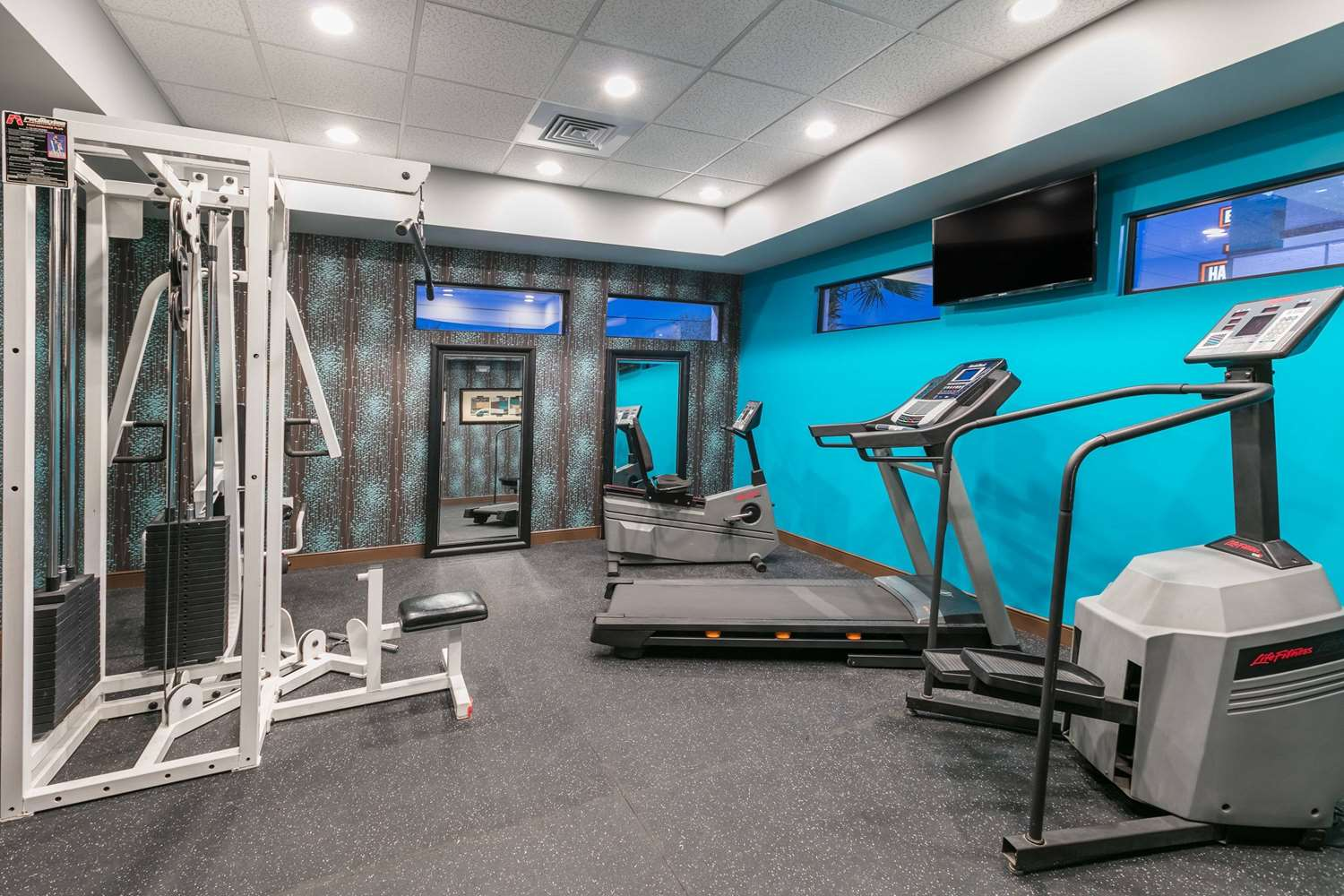 Fitness/ Exercise Room - Ramada Suites El Paso