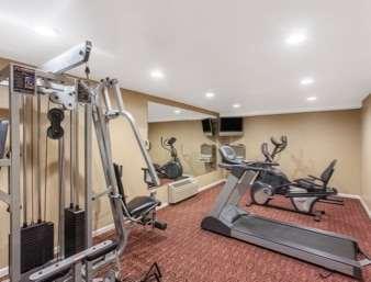 Fitness/ Exercise Room - Ramada Inn University Center Fresno