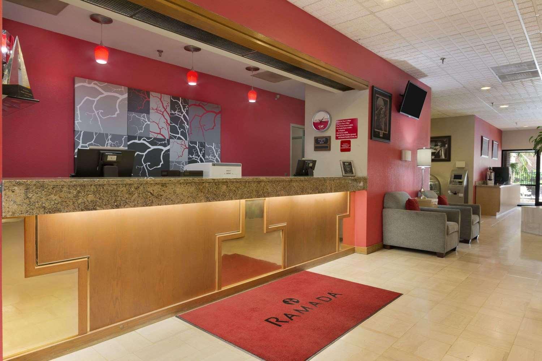 Lobby - Ramada Inn Blue Ridge Raleigh