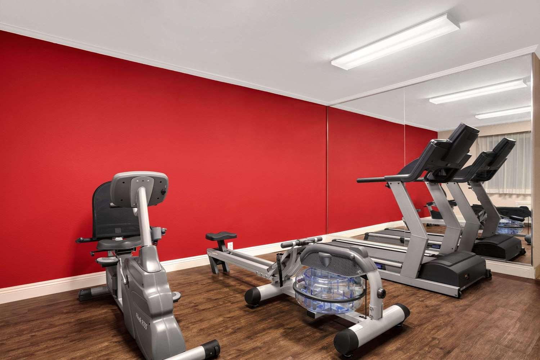 Fitness/ Exercise Room - Ramada Inn Torrance
