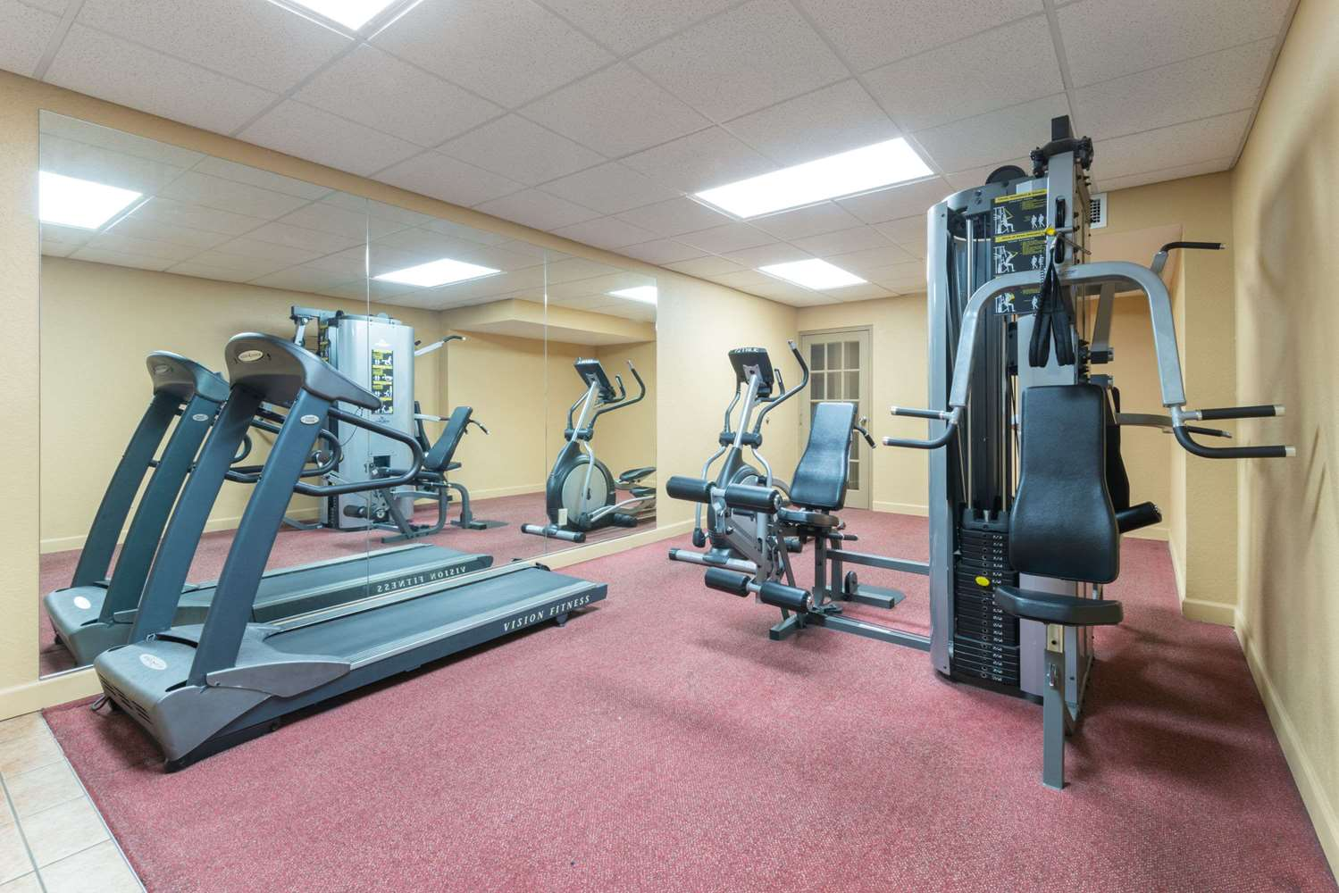 Fitness/ Exercise Room - Ramada Inn Convention Center Downtown Topeka