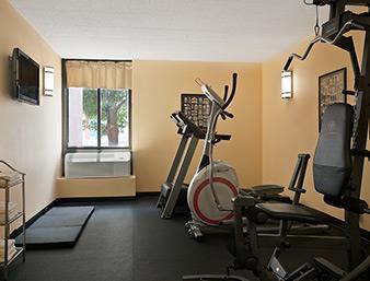 Fitness/ Exercise Room - Days Inn Wyomissing