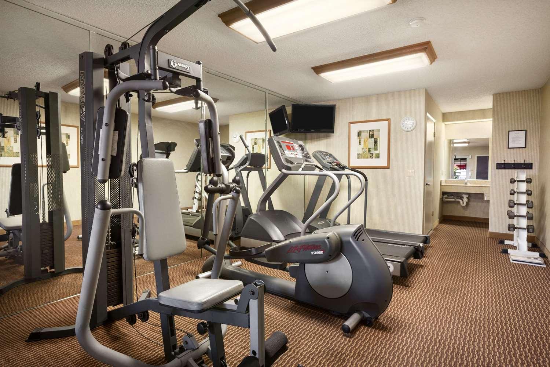 Fitness/ Exercise Room - Ramada Hotel Costa Mesa